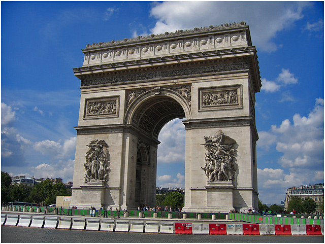France - Paris Arc de Triomphe