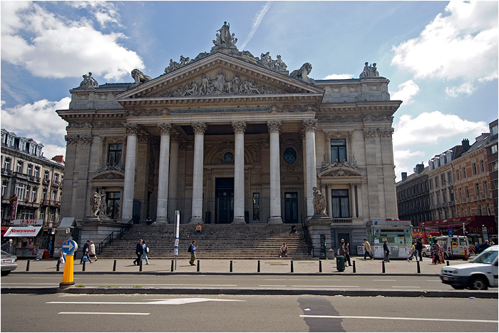 Belgium - Brussels - Stock Exchange